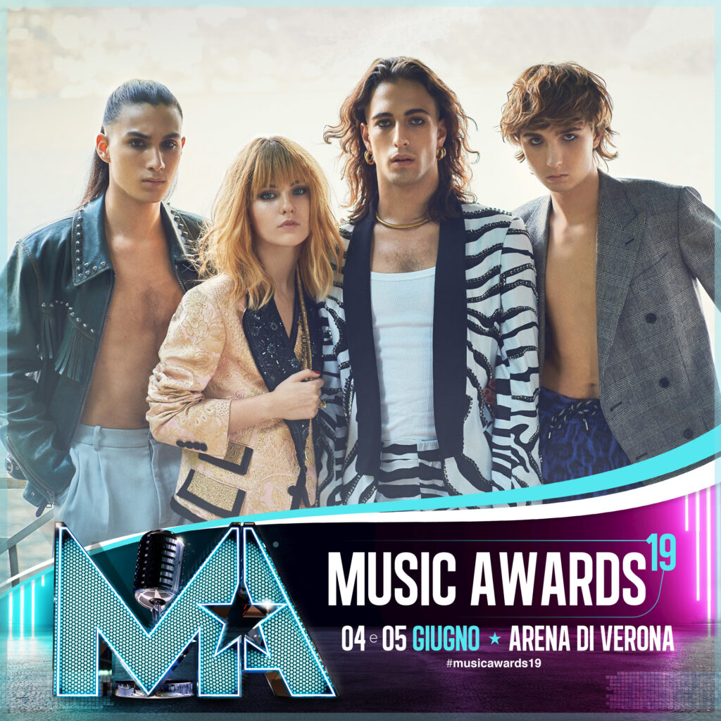 MÅNESKIN JOIN THE CATS OF THE MUSIC AWARDS 2019