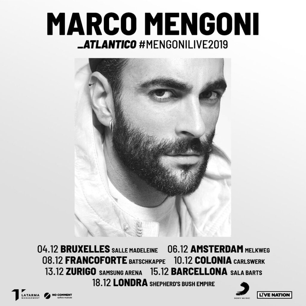 #MENGONILIVE2019 IN EUROPA