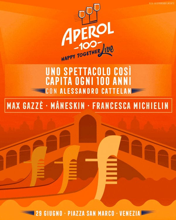 APEROL HAPPY TOGETHER LIVE