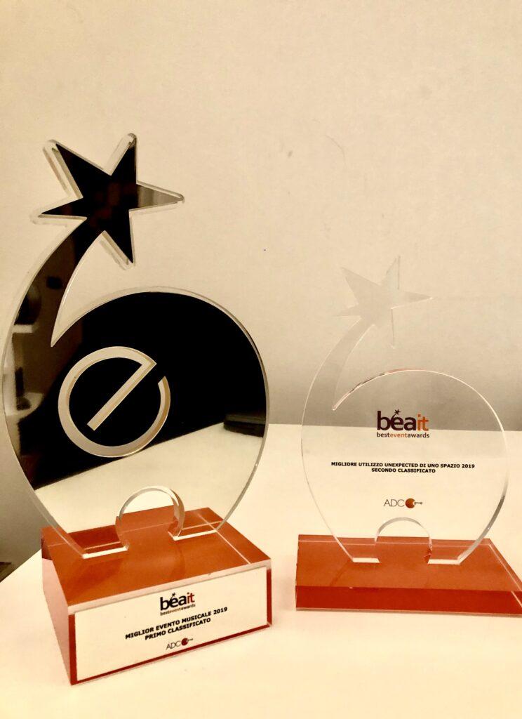 LATARMA premiata ai BEA ITALIA 2019 #BestEventAwards