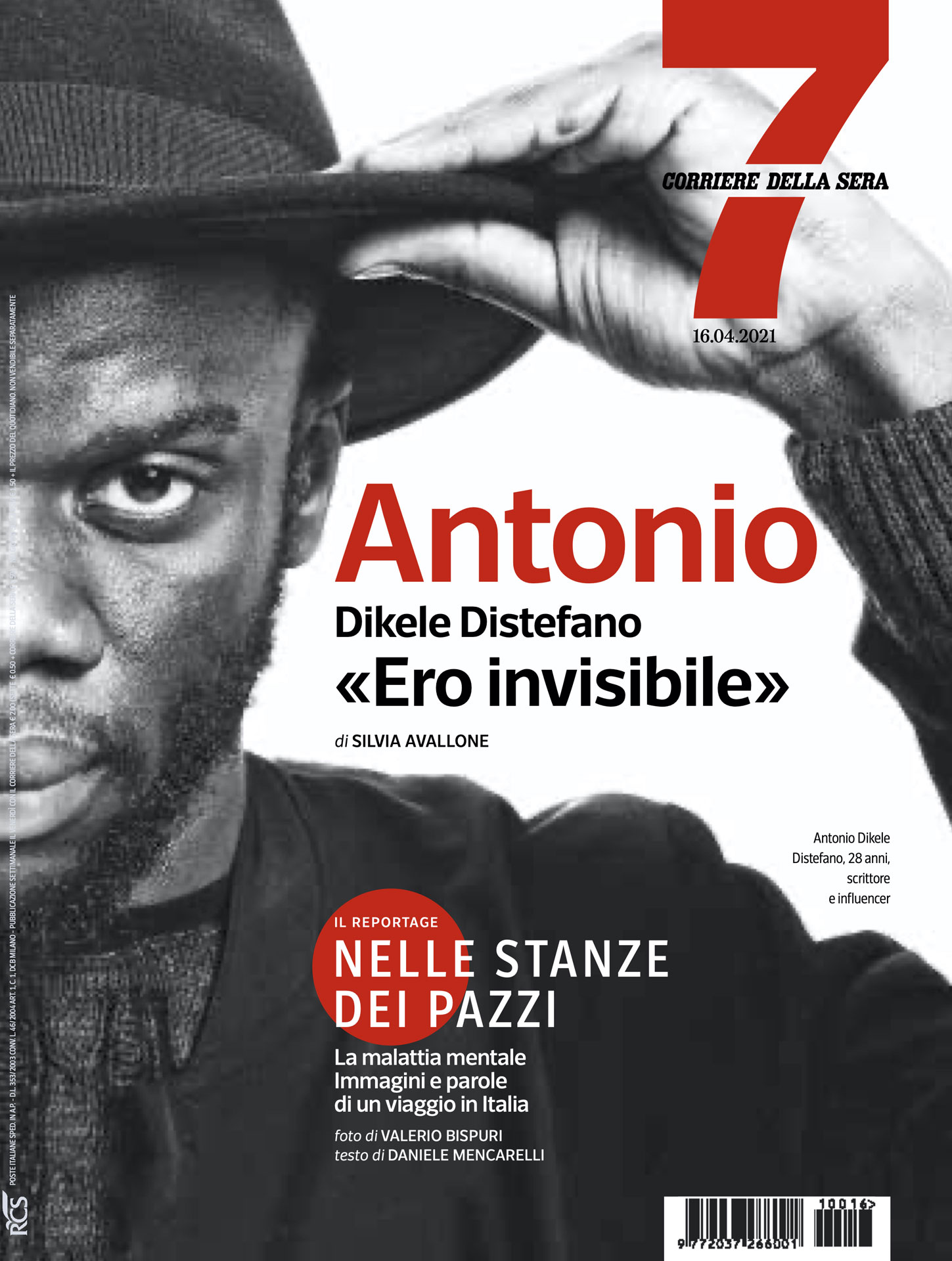 Antonio Dikele Distefano cover di 7